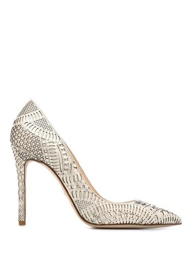 Desenli Stiletto Ayakkabı-Beymen Collection